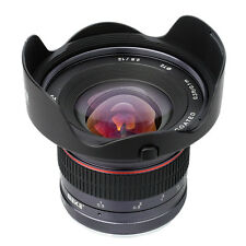 Meike 12mm f/2.8 Wide Angle Fixed Lens for Mirrorless Olympus Panasonic GF5/6/7