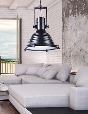 Lampada vintage da soffitto in Stile Industriale moderno di design Botti Nero