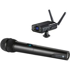Audio-Technica ATW-1702 System 10 Camera Mount Wireless Mic System Handheld Mic