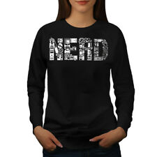 Wellcoda Learn Computer Parts Geek Womens Sweatshirt,  Casual Pullover Jumper