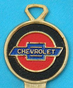 Chevrolet Gold Bow tie Corvette Camaro SS 1969 1973 1977 1981 GM Crest Key Blank