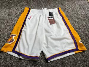 Mens Mitchell & Ness NBA Swingman Shorts Los Angeles Lakers 2009 Size XL