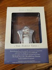 Hallmark Family Tree Photo Frame Holder A Link to Yesterday Metal Silver 2002