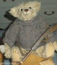 """❤KERMIT ROOSEVELT Bears of Sagamore Hill Collection All Papers COA BOX 13"""" 2002❤"""