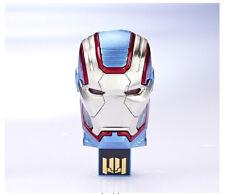 IT-PATRIOT: infoThink x Marvel Ironman 3 Iron Patriot Mask 8GB USB Flash Drive