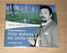 Hörbuch Hörspiel CD - Philip Maloney - Die Leiche im Moor - Armin Rhode liest