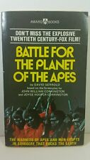 BATTLE FOR THE PLANET OF THE APES David Gerrold SIGNED 1st Edition 1st Printing
