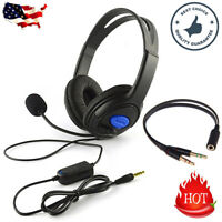 For PS4/Xbox One/Nintendo Switch/PC 3.5mm Wired Stereo Surround Gaming Headset