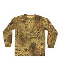 New Boys' Long Sleeve Camo Tshirt, MO Brush Size Large 10-12