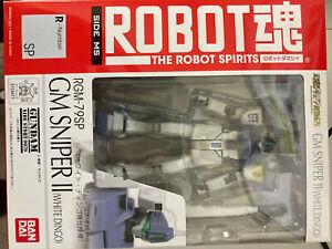 Bandai Robot Spirits Damashii Gundam GM Sniper White Dingo Custom Action Figure