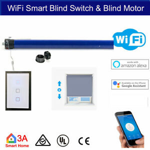 Smart WiFi Blind Switch, 35mm Roller Blind Tubular Motor 4 Automation Voice Cont