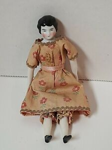 """Antique Vintage 6"""" Bisque  Porcelain China Head Doll #70 Germany Lovely"""