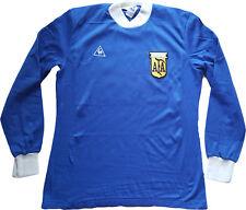 maradona Argentina camiseta maglia AFA 1981-1984 Le coq sportif vintage issue