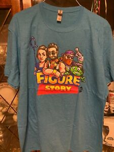 Pro Wrestling Crate Figure Story T-Shirt XXL 2X New Chelsea Green Matt Cardona