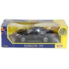 Porsche 911 Black MotorMax 1:18 Model Car Die Cast 73101 Collectors Edition NEW