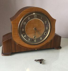 Vintage Bentima Mantle Clock -working