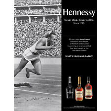 Hennessy black history month poster  Jesse Owens 18 by 27 new