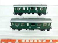 BP785-0,5# 2x Fleischmann H0/DC Personenwagen 1. Klasse 27 261 Nür DB, sehr gut