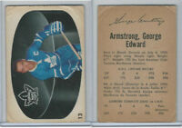 1962 Parkhurst Hockey, #13 George Armstrong HOF, Toronto Maple Leafs