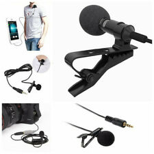 Audio for Iphone PCProfessional Microphone Mic Clip-on Lapel Lavalier Rec UAT