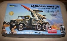 Revell 7824 Renwal Lacrosse Missile on a 2.5 ton Truck mount model kit 1/32