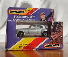 Matchbox James Bond Rolls Royce 007 Original Model and Original Box (MB051)
