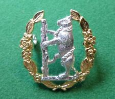 Staybrite Cap Badge Queen's Own Warwickshire & Worcestershire Yeomanry QOW&WY