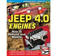 Jeep 4.0 Dis-Assembly/Assembly/Engine-Block-Heads Rebuild/Stroker Manual SA294