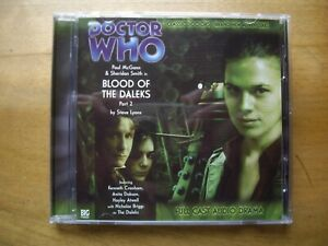 Doctor Who Blood of the Daleks Part 2, 2007 Big Finish audio book CD