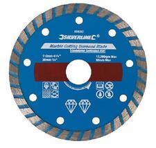 110mm Piastrella Taglio Disco, Lama di diamante, Cutter, CERAMICA STONE, umido a secco, Foro 22.23mm