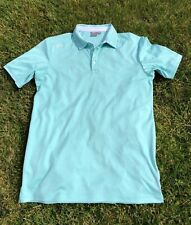Ping Sensor Cool Sea Foam Short Sleeve Polo Top Size S Excellent Condition