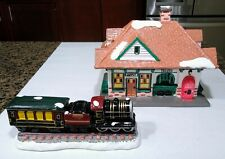New ListingDepartment 56 Original Snow Village Station and Train #51225 Excellent Condition