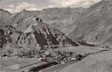 Pisac Peru panoramic aerial view of general area real photo pc Z40887