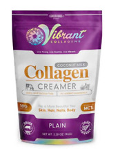 Keto: Vibrant collagen low carb Creamer plain 3.38 oz (4 carbs)