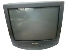 """Panasonic 20"""" CRT & Remote Front & Rear Inputs For Gaming"""