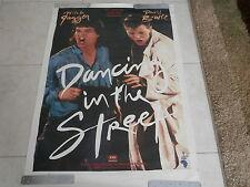 David Bowie And Mick Jagger~ Mega Rare~27 X 41~ Live Aid ~#32~ Promo Poster
