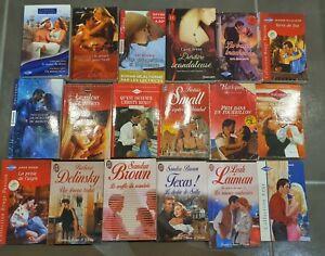 Lot livres romans Harlequin J'ai Lu divers collection