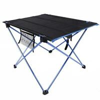Aluminum Roll Up Table Folding Camping Outdoor Indoor Picnic Table Heavy Duty