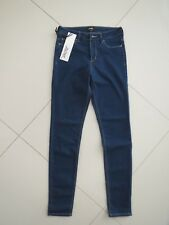 Riders by Lee Ladies Vapid Blue Mid Skinny Super Stretch Jeans Size 8