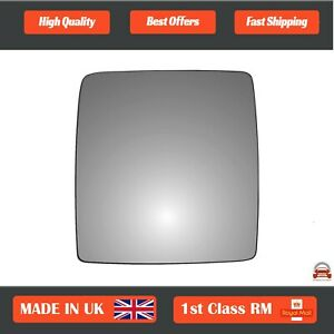 Right Side Stick On Convex wing mirror glass Vauxhall Combo Mk2 2001-2011 63RS