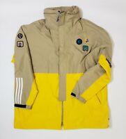 Adidas x Pharrell Williams Hu Jacket XXL Hemp Yellow EQT