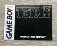 Tetris Nintendo Game Boy Instruction Manual Booklet