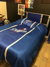 boys blue bed set in great condition