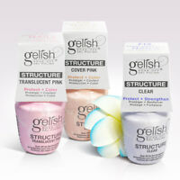 Harmony Gelish Soak Off Nail Strengthener Structure Gel 0.5oz *Choose any one*