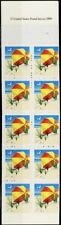 2443b, Blue Omitted Booklet Pane ERROR in Booklet Cover - Stuart Katz