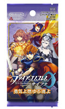 (1pack) TCG Fire Emblem 0 Booster Pack Courage, Ferocious Soul (10 Cards in)