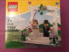 40165 WEDDING FAVOUR SET legos set lego NEW exclusive bride groom cake topper