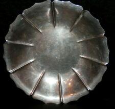 OLD ANTIQUE STERLING SILVER Tray / Plate  257 grams GOOD MAKER marked vintage
