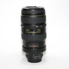 Nikon NIKKOR 80-400mm f/4.5-5.6D ED VR Lens very good condition. **Warranty**