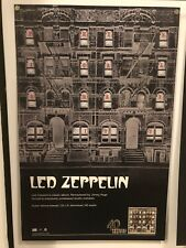 LED ZEPPELIN Physical Graffiti 11x17 DOUBLE SIDED PROMO POSTER